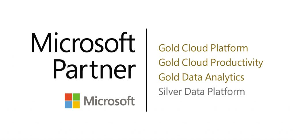 Gold Partner for Microsoft cloud technology