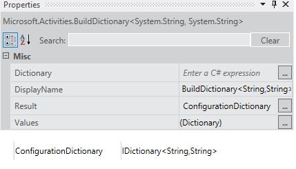 Build Dictionary activity