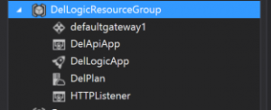 VS 2015 using the Cloud Explorer